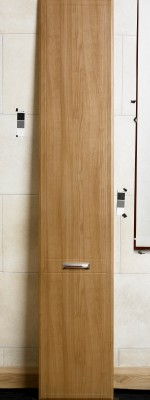 Chamfered and Groove 2 Panel Natural Cherry