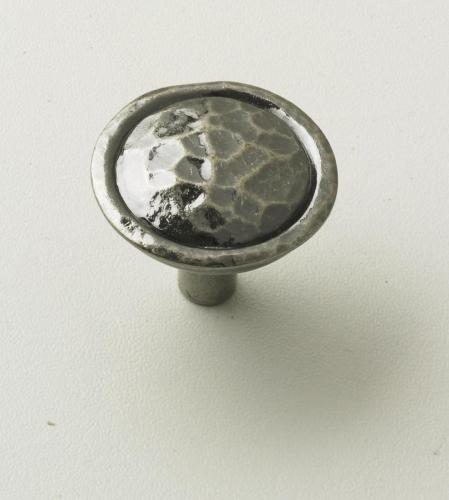 Hamered Pewter Knob